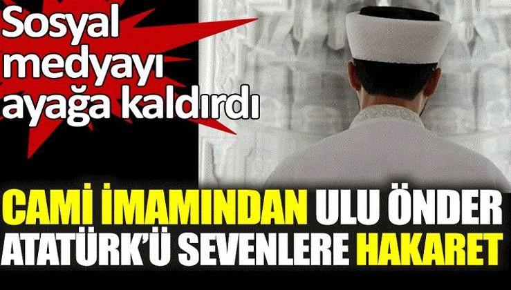 Atatürk'ü sevenlere hakaret