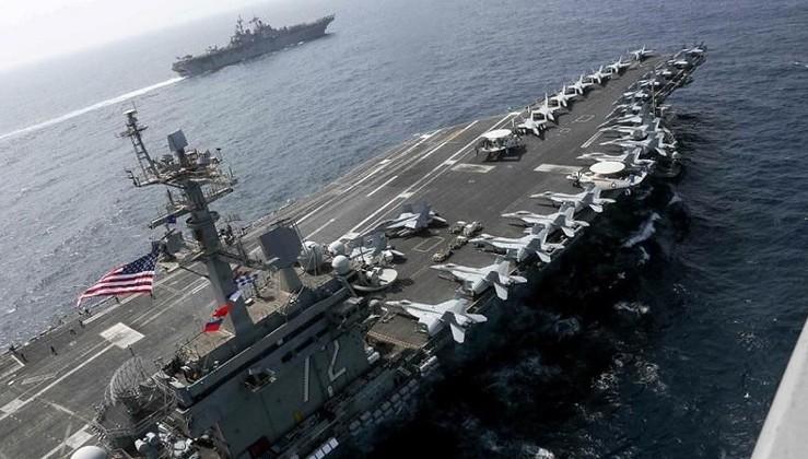 Kriz büyüyor... ABD savaş uçakları Körfez'de!