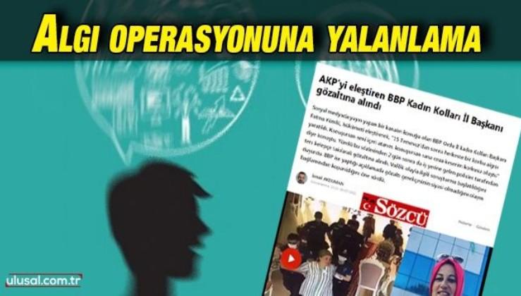 """Sözcü Gazetesinin """"İktidar ortağına ters kelepçe"""" haberi yalanlandı"""