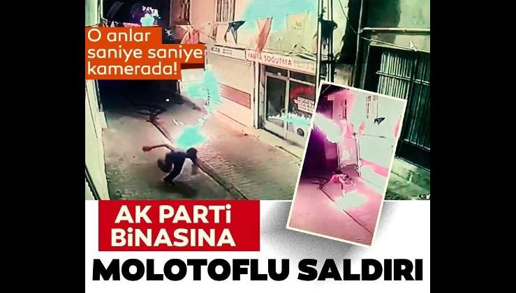 Biden görüşmesinden sonra düğmelerine basıldı: AK Parti Hani İlçe Başkanlığı'na molotoflu saldırı