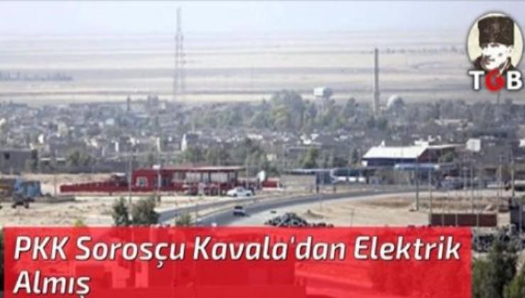PKK Sorosçu Kavala'dan Elektrik Almış