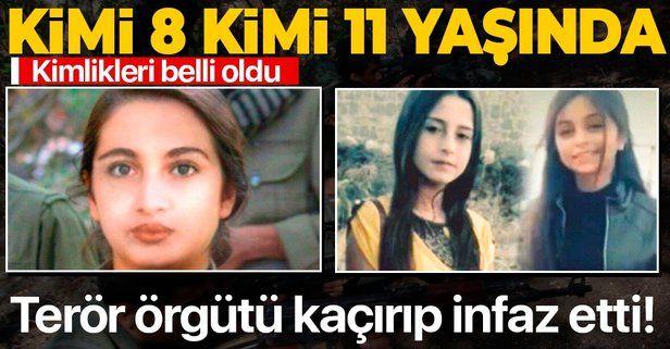 Terör örgütü PKK/YPG'nin kaçırdığı çocukların kimlikleri ortaya çıktı! Kimi 8 kimi 11 yaşında