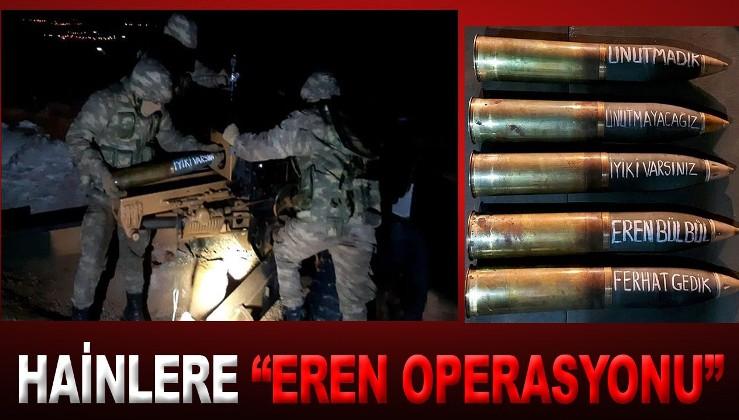 Terör örgütüne ağır darbe! 'Eren-8 Amanoslar' operasyonunda 7 depo, 2 sığınak imha edildi