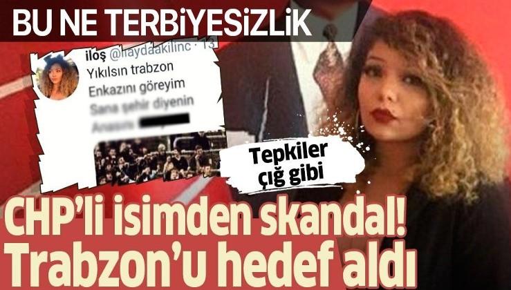 Trabzon'u hedef alan skandal paylaşım! Tepki yağdı...
