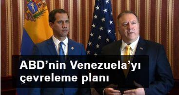 ABD'nin Venezuela'yı çevreleme planı