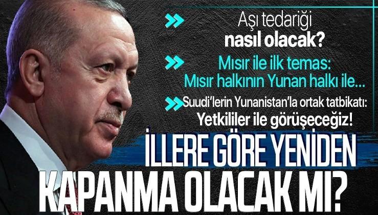 Erdoğan'dan flaş açıklama: Mısır'la ilişkilerimizi çok daha güçlü seviyeye...
