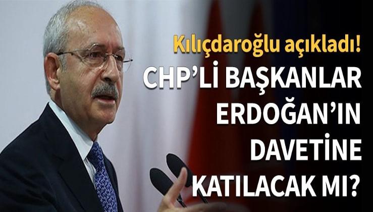 Feyzioğlu'nu linç etmişlerdi! CHP'li başkanlar Erdoğan'ın davetine katılacak mı?