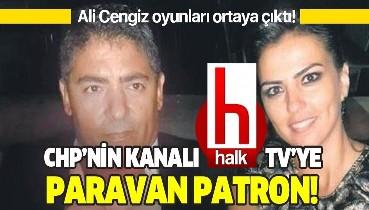 Halk TV'ye paravan patron!