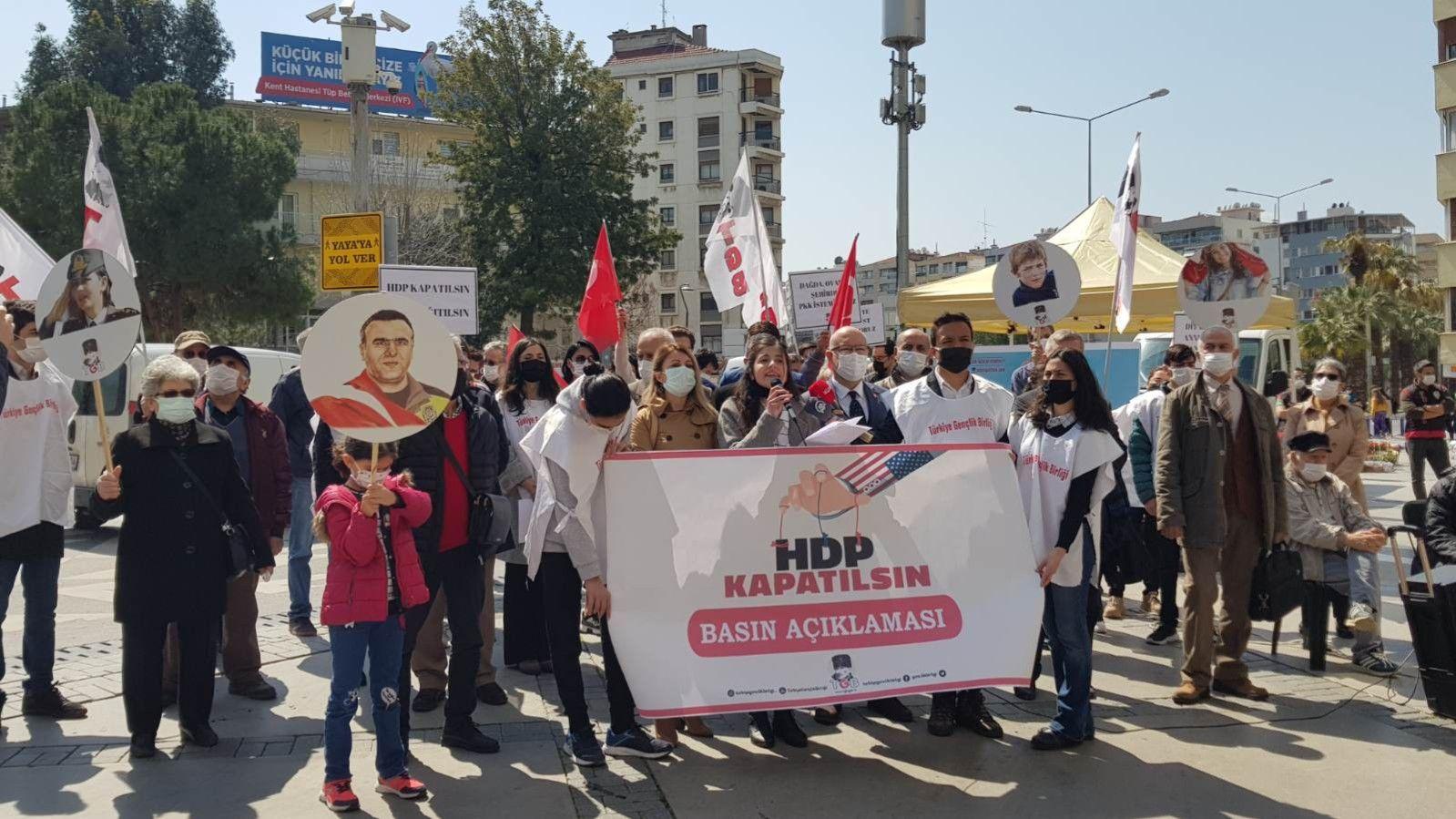 Türkiye Gençlik Birliği'nden Çağrı: Terör Partisi HDP Kapatılsın
