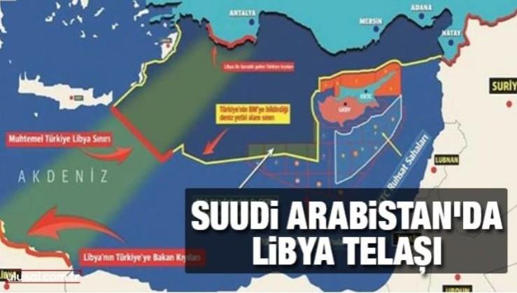 Suudi Arabistan'da Libya telaşı