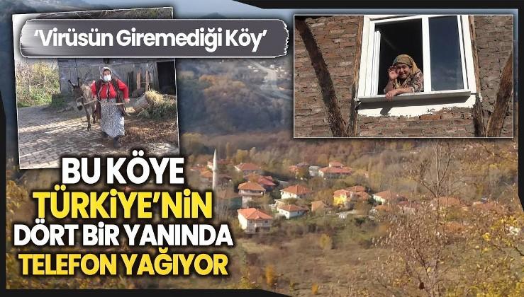 Türkiye'de koronavirüs görülmeyen sayılı köylerden!