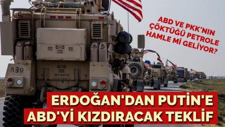 ABD ile PKK'nin çöktüğü petrole, Erdoğan ve Putin'den hamle mi geliyor?