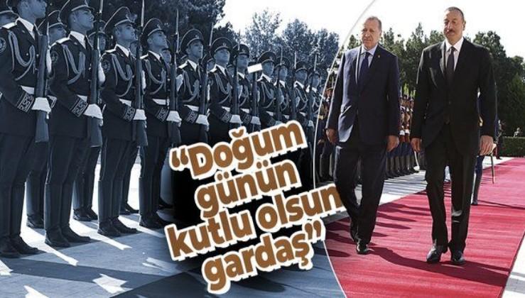 Erdoğan, Azerbaycan Cumhurbaşkanı Aliyev'in doğum gününü kutladı