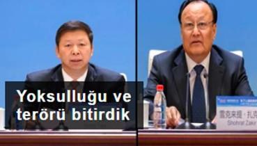 Uygurlar konuşuyor: Yoksulluğu ve terörü bitirdik