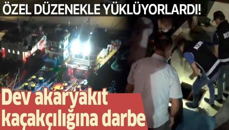 Dev akaryakıt kaçakçılığına darbe: 2,5 milyonluk zarar engellendi, 19 tutuklama