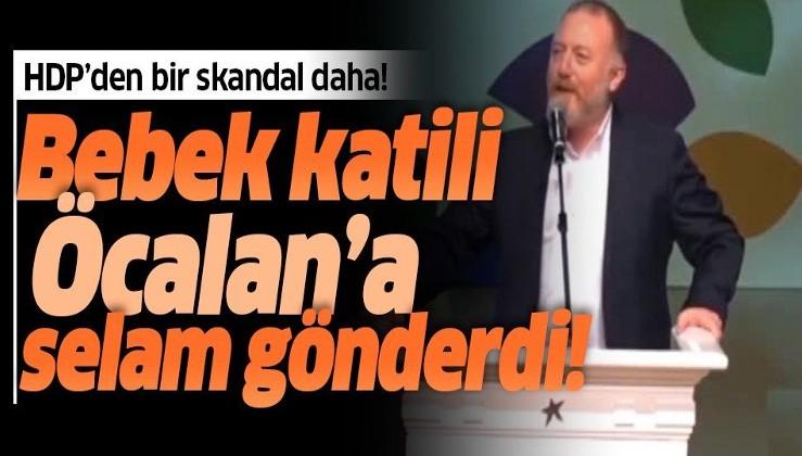 HDP kongresinde bir skandal daha! Sezai Temelli'den Öcalan'a selam!