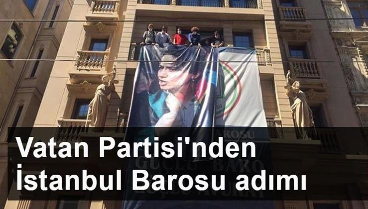 Vatan Partisi, İstanbul Barosu hakkında suç duyurusu yapacak