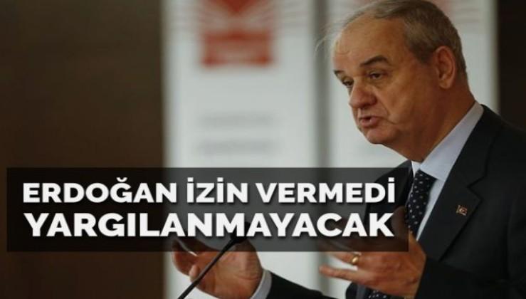 Erdoğan izin vermedi Başbuğ yargılanmayacak!