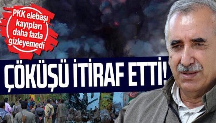 SON DAKİKA: Terör örgütü PKK'nın elebaşı Murat Karayılan'dan Gara itirafı!