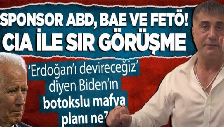 ABD'de Biden'ın göreve başlamasıyla 4,5 yıl önceki 'Sedat Peker' senaryosu raftan indi! Dikkat çeken CIA itirafı