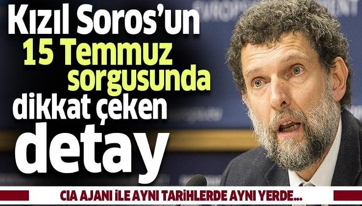 'Kızıl Soros' Osman Kavala'nın 15 Temmuz darbe girişimi ile ilgili sorgusuna ait ifadesi ortaya çıktı.
