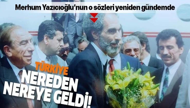 Muhsin Yazıcıoğlu Türkiye'nin Azerbaycan'a iki helikopter bile veremediği o günleri böyle anlatmıştı