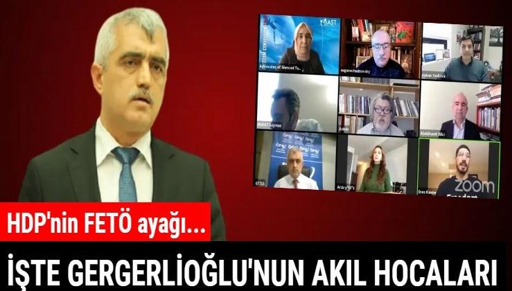 FETÖ'cülere çıplak arama yapılıyor yalanı elinde patlayan HDP'li Ömer Faruk Gergerlioğlu şimdi de FETÖ'cülerle toplantı yaptı