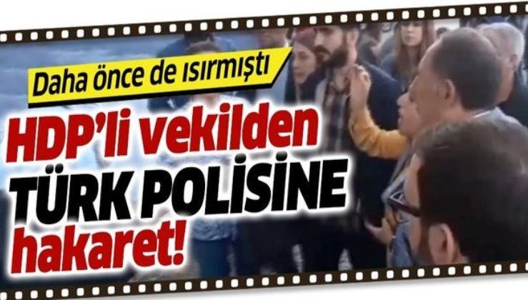 Polisi ısıran HDP'li Saliha Aydeniz bu kez de hakaret etti!.