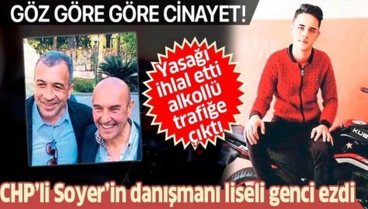 Tunç Soyer'in danışmanı Ali Kıvanç Ege liseli genci ezdi