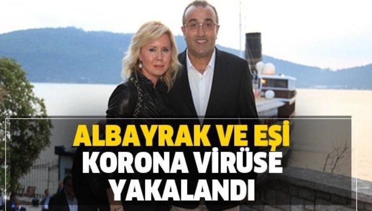 Galatasaray'da corona virüs depremi! Abdurrahim Albayrak ve eşi Şükran Albayrak karantinada