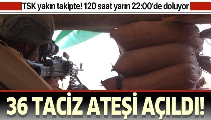 MSB duyurdu: PKK/YPG'li teröristlerin ihlal sayısı 36 oldu.