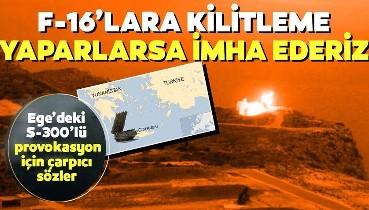 Son dakika: Yunanistan'dan Ege'de büyük provokasyon! Güvenlik kaynakları: F-16'lara kilitleme yaparlarsa hedefleri imha edebiliriz