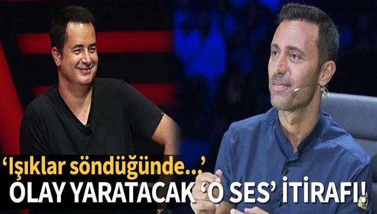Mustafa Sandal'dan ortalığı karıştıracak 'O Ses Türkiye' itirafı! ''Işıklar söndüğünde...''