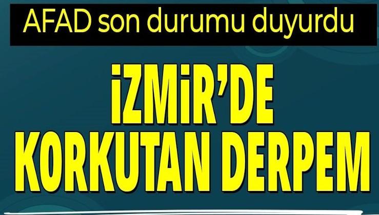 Son dakika deprem haberi: İzmir'in Seferihisar ilçesinde 4.0 büyüklüğünde deprem | AFAD, Kandilli son depremler