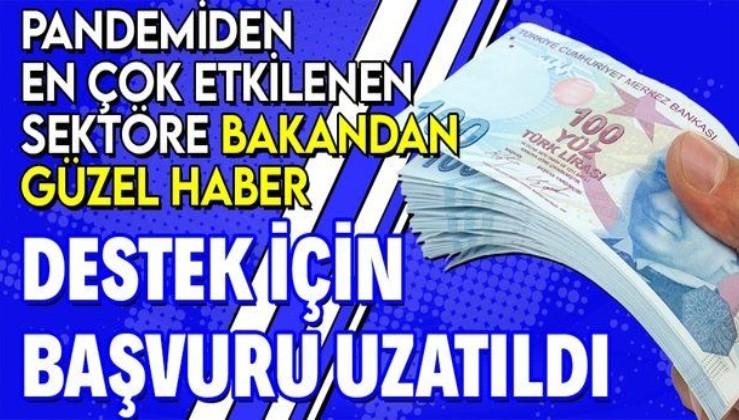 Ticaret Bakanı Mehmet Muş: Yiyecek-içecek işletmeleri için geri ödemesiz destek başvuru sürelerini uzattık