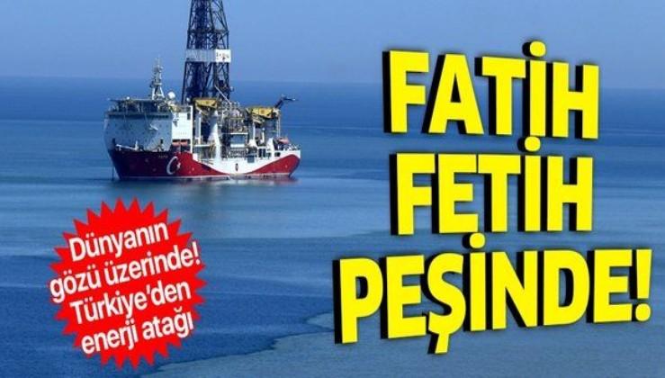 Fatih sondaj gemisi Karadeniz açıklarında doğalgaz arıyor! Türkiye arama faaliyetlerine hız verdi