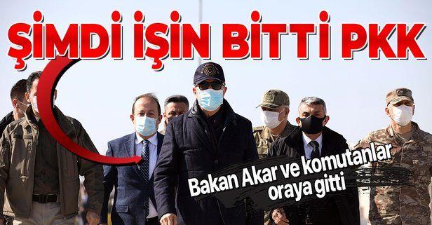 TSK'dan PKK'ya net mesaj! Komutanlar sınırda