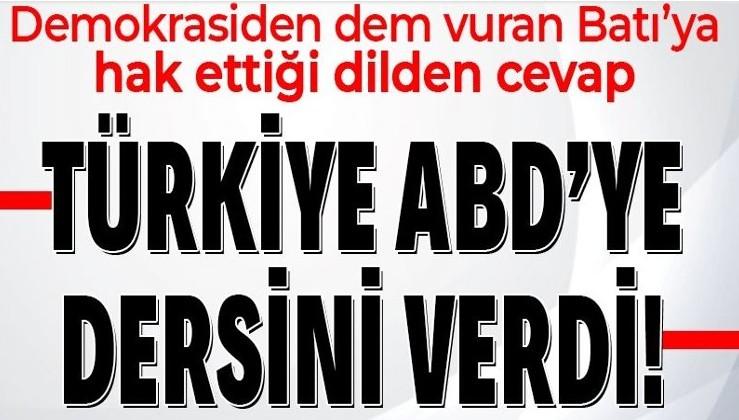 """Batı'nın """"Boğaziçi"""" üzerinden demokrasi dersi vermeye kalkışmasına Türkiye'den peş peşe tepkiler"""