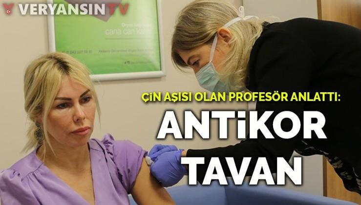 Çin aşısı olan profesör anlattı: Antikor tavan