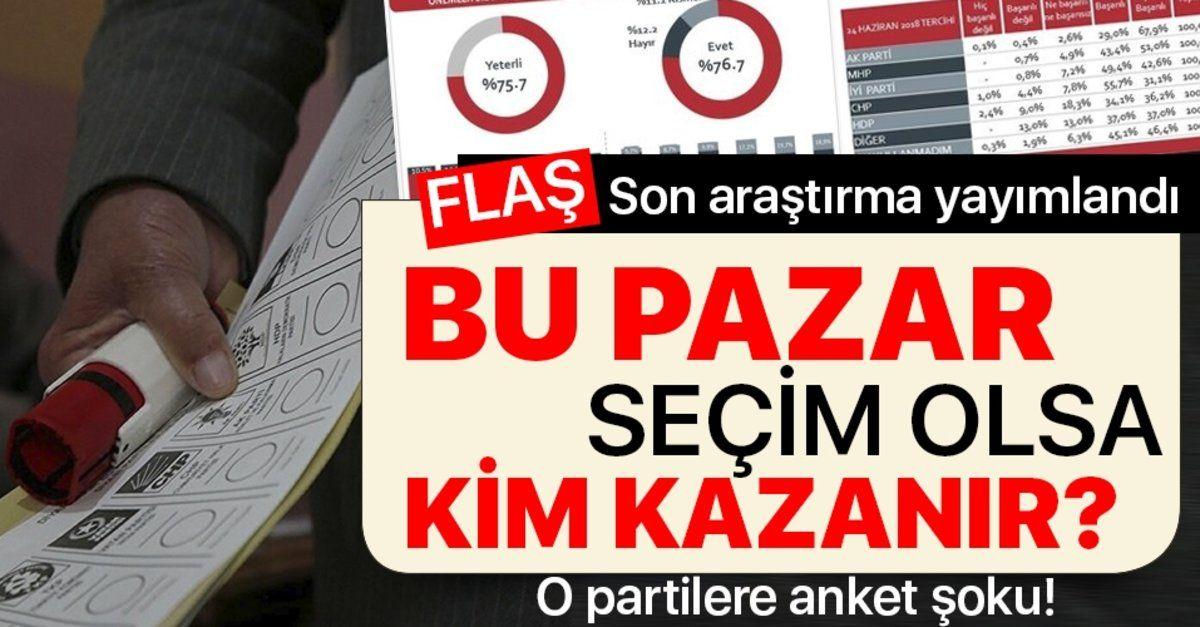 Dikkat çeken seçim anketi! Bu Pazar seçim olsa kim kazanır? Ali Babacan ve Ahmet Davutoğlu'na büyük şok!