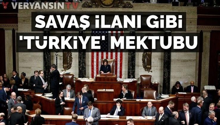Savaş ilanı gibi 'Türkiye' mektubu