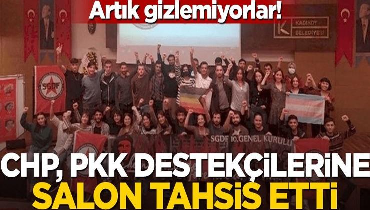 CHP'li belediye, PKK'lılara salon tahsis etti