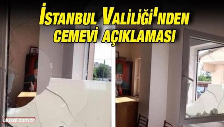 İstanbul Valiliği'nden cemevi açıklaması