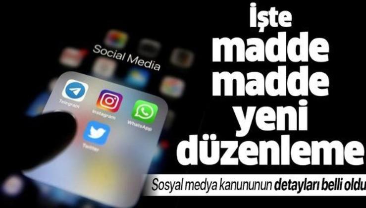 Son dakika: İşte sosyal medya kanununun detayları! AK Parti'den sosyal medya için kanun teklifiyle ilgili flaş açıklama