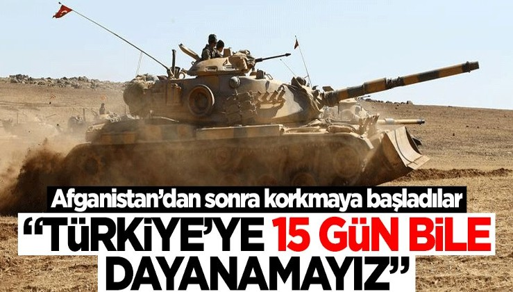 """Afganistan'daki gelişmenin ardından korkmaya başladılar! """"Türkiye'ye 15 gün bile dayanamayız"""""""