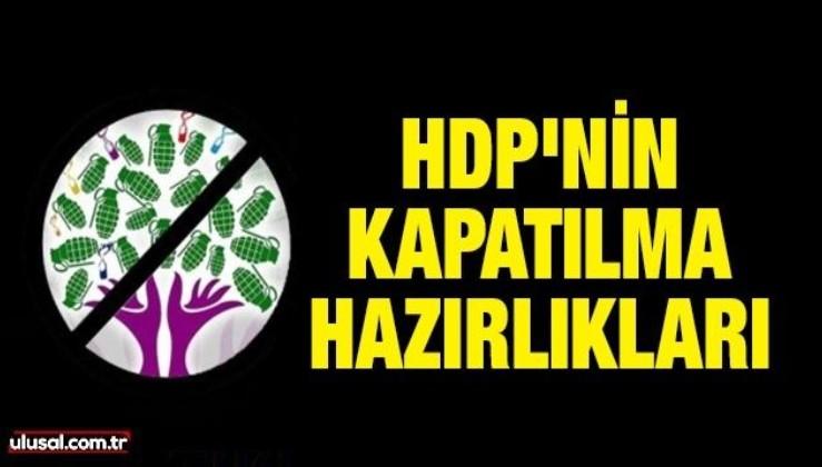 HDP'nin kapatılma hazırlıkları
