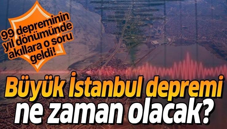 Marmara'da deprem olacak mı? Büyük İstanbul depremi ne zaman?