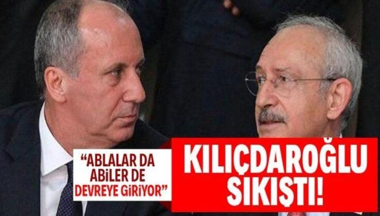 """Muharrem İnce, Kemal Kılıçdaroğlu'nu köşeye sıkıştırdı! """"Artık aday olmak zorunda..."""""""