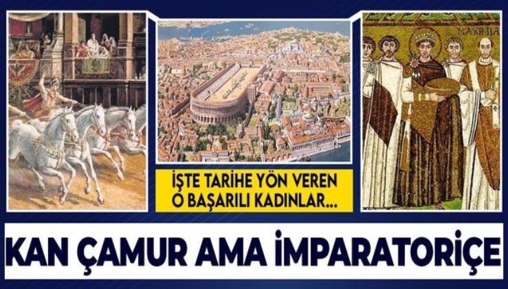 Sirkin tozlu ve çamurlu sahnesinden Bizans imparatoriçeliğine... Theodora, tarihe yön veren kadınlar listesinde
