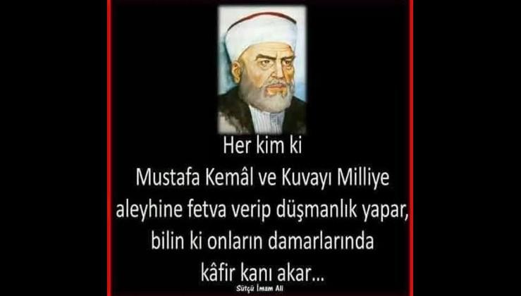 Sütçü İmam ve Gazi Mustafa Kemal Atatürk